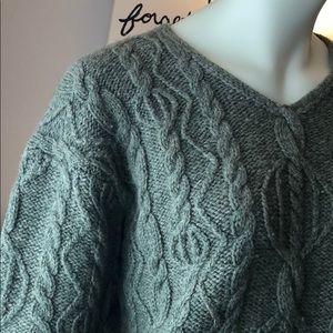 L.L. Bean classic wool sweater